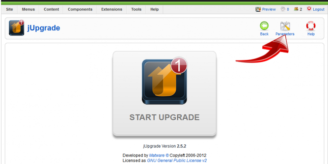 Joomla 1.5 frissítése Joomla 3.9.3 verzióra – 6. lecke: A frissítés